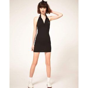 Fred Perry Amy Winehouse Black & Pink Polo Dress